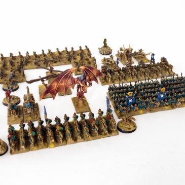 Warmaster – Tomb Kings Army / Part III