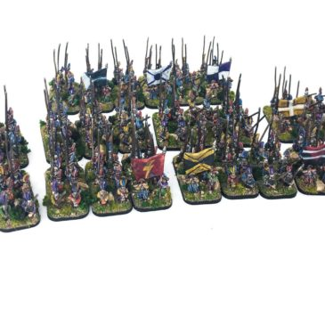 Warmaster – Empire Pikemen – Part V