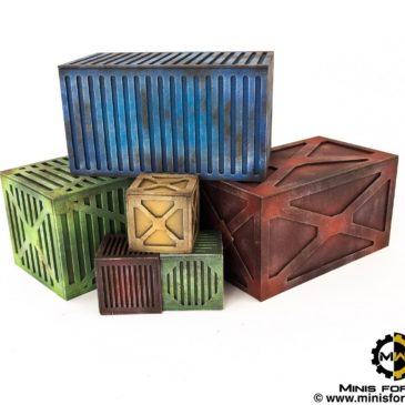 Terrain – Boxes and containers [Kromlech & GW]