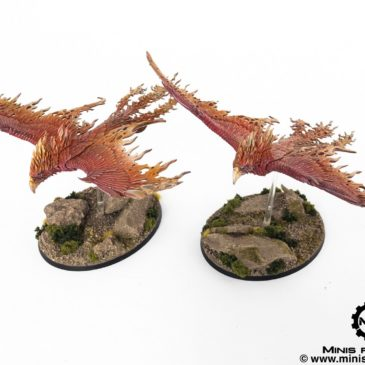 Age of Sigmar – Flamespyre Phoenix