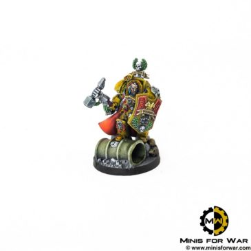 40k – Imperial Fists Captain Lysander