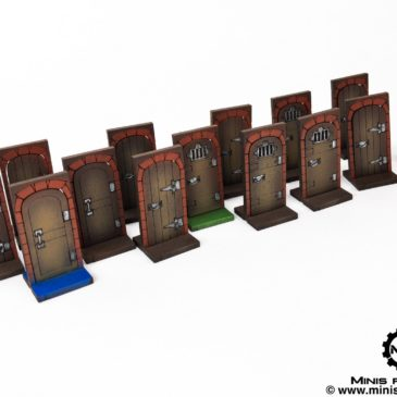 Zombicide Black Plague / Green Horde – Doors Set