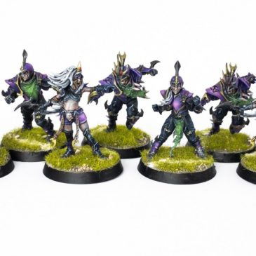 BloodBowl – Naggaroth Nightmares – Dark Elf Team