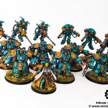 40k – Primaris Marines Team