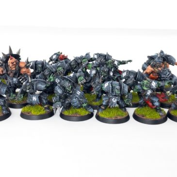 BloodBowl – The Gouged Eye – Ork Team