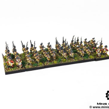 Historical – Great Northern War in 10mm / Infantry