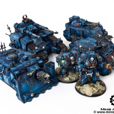 30k / 40k – Night Lords Vehicles