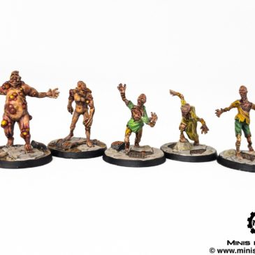 Fallout Wasteland Warfare – Ghouls / Vermins / Deathclaw