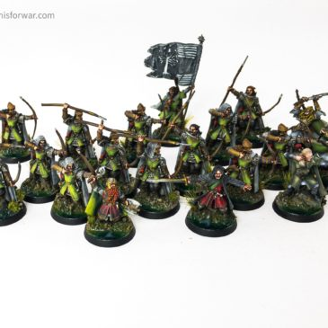 Lord of the Rings/ Hobbit – Ranger Army Showcase