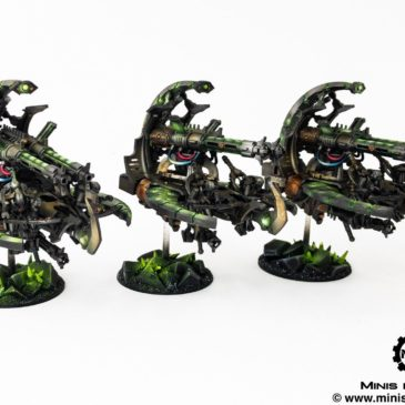 40k – Necron Army – Catacomb Command Barge