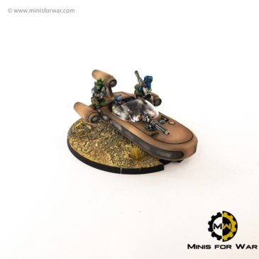 Star Wars: Legion – X-34 Landspeeder
