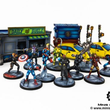 Marvel: Crisis Protocol – Core Box