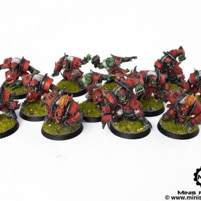 BloodBowl – The Gouged Eye – Orc Team