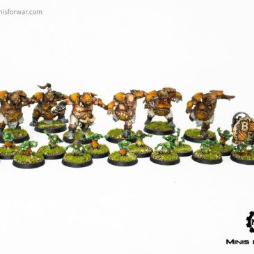 BloodBowl -The Fire Mountain Gut Busters