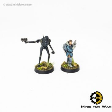 Star Wars: Legion – Cassian Andor and K-2SO