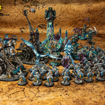 Age of Sigmar/ 9th age: Ossiarch Bonereapers Showcase