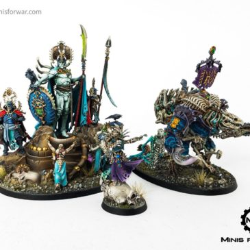 Age of Sigmar/ 9th age: Ossiarch Bonereapers Part II