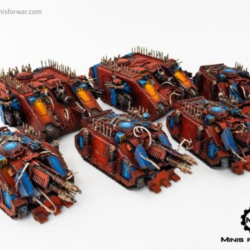 40k – Chaos World Eaters, Vehicle Army