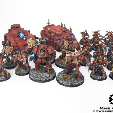 40k – World Eaters Army