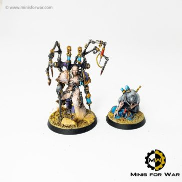 40k – Heroes: Lucius, Mephiston, Cypher