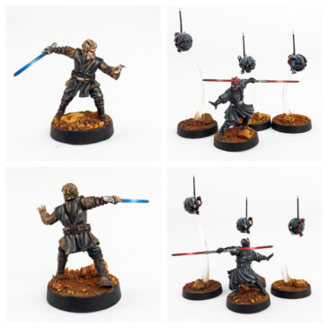 Star Wars: Legion – Anakin & Darth Maul