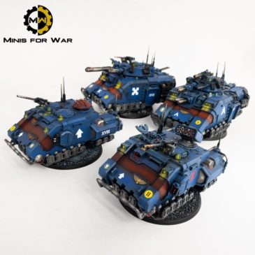 40k – Crimson Fists Vehicles