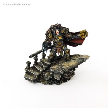 30k – Horus the Warmaster Primarch of the Sons of Horus