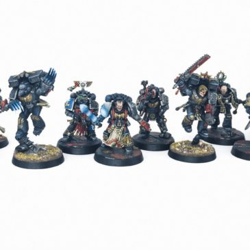 40k – Deathwatch / Kill Team Cassius
