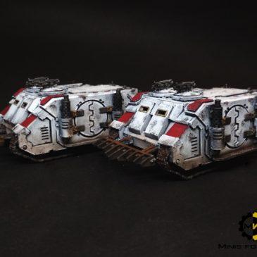 30k – White Scars / Deimos Pattern Rhino