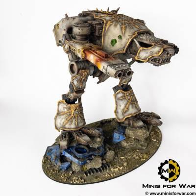 40k – Chaos Warhound Titan