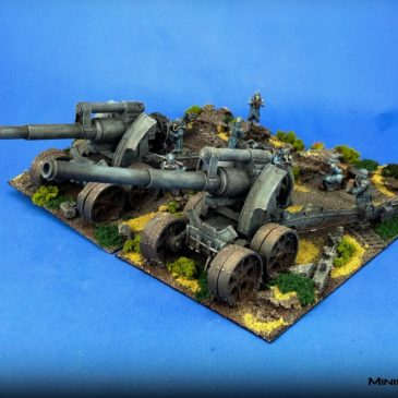 40k – Death Korps of Krieg – Earthshaker Cannons