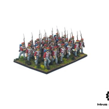 Black Powder – Late Hanoverian Infantry