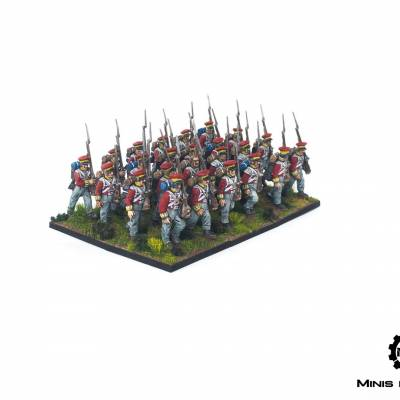Black Powder – Late Hanoverian Infantry