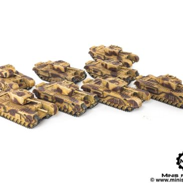 Flames of War – British Army Tanks