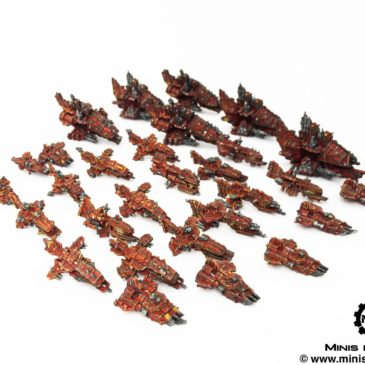 Battlefleet Gothic – Orks BIG Armada