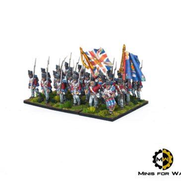 Black Powder – British Line Infantry