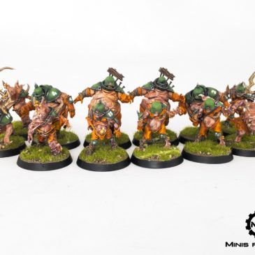 BloodBowl – Nurgle's Rotters Team