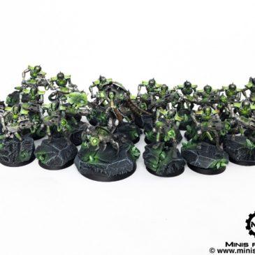 40k – Necron Army – Immortals & Cryptek