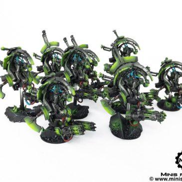 40k – Necron Army – Tomb Blades