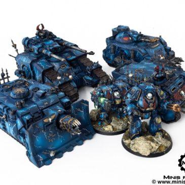 30k / 40k – Night Lords Vehicles