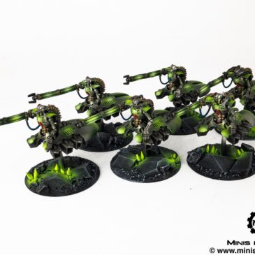 40k – Necron Army – Destroyers / Heavy Destroyers