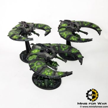 40k – Necron Army – Doom Scythes / Night Scythes