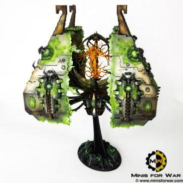 40k – Necron Army – Tesseract Vault
