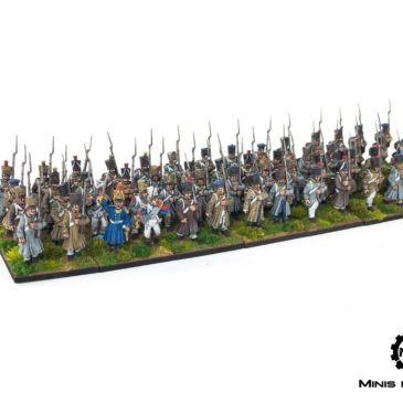 Black Powder – French Line infantry (Late)