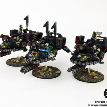 40k – Space Marines – Ravenwing Talon Master & Sammael on Sableclaw