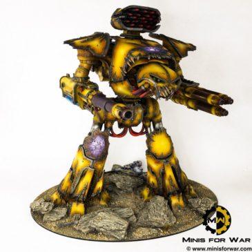 40k – Chaos Reaver Titan