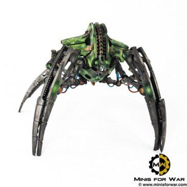 40k – Necron Army – Necron Seraptek Heavy Construct Body