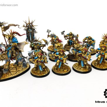 AoS – Stormcast Eternals – Army showcase!