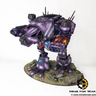40k – Chaos Warhound Titan II