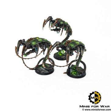 40k – Necron Army – Canoptek Wraiths